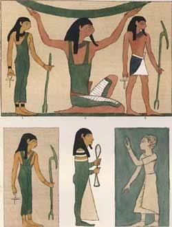 Реферат по истории костюма на тему одежда в египете