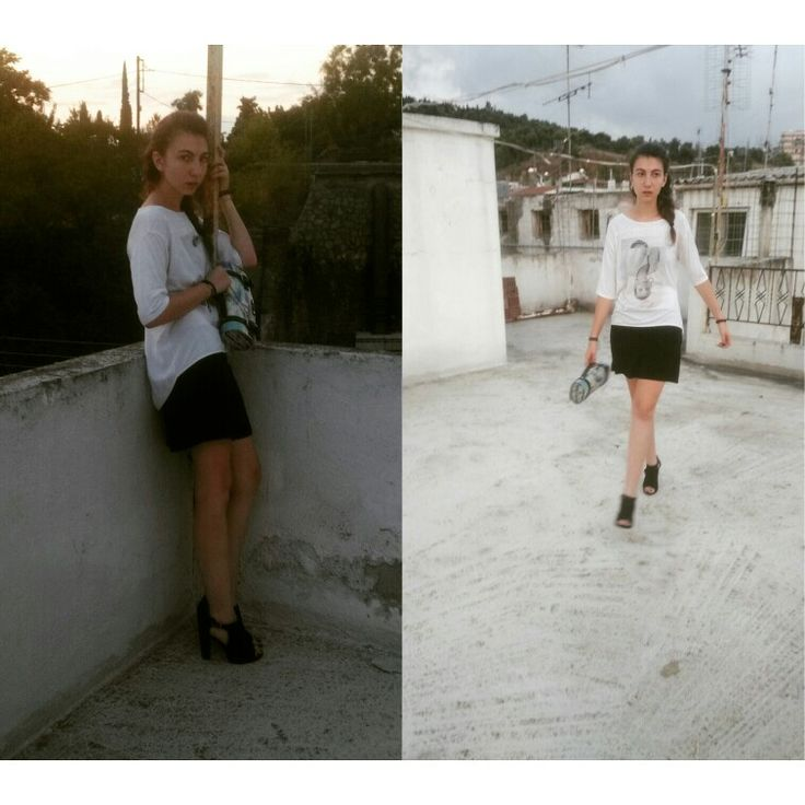 Look of the day vol5 fw 2015 Blouse and sorts @zara, heels @hm ,bag @lovely