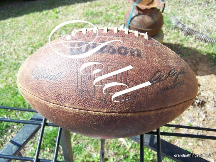 NFL Official Wilson Game Football - Commissioner Pete Rozelle Signature Edit item   Reserve item $125.00 DISCOUNTS