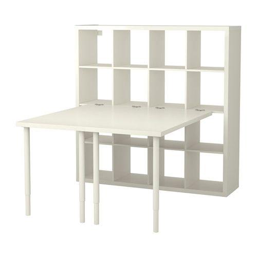 17 best ideas about kallax desk on pinterest bureau ikea for Bureau kallax ikea