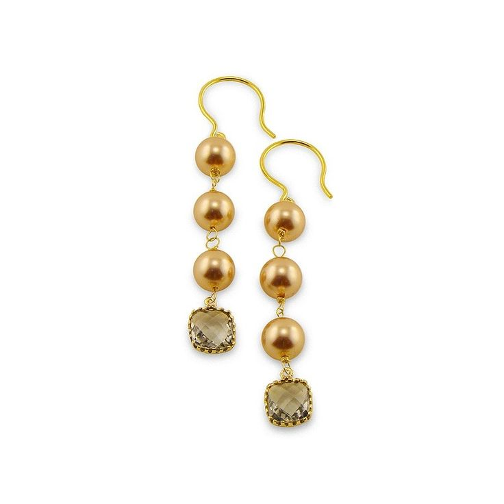 Pink Pearl Bezel Earrings - Adorable Adornments