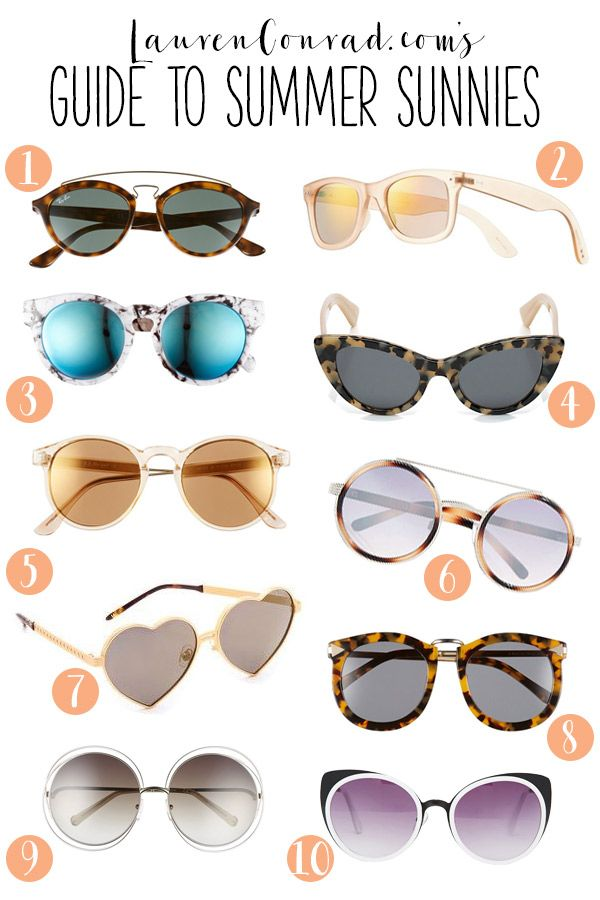 you can never have enough summer sunnies