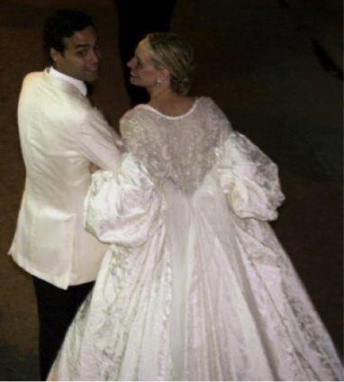 Andres Santo Domingo and Lauren Davis