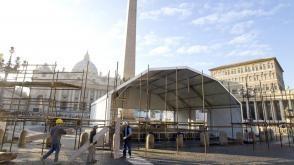 Vaticaan: geen geld voor de traditionele kerststal op het Sint Pietersplein