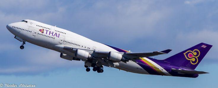 https://flic.kr/p/NbSWPe | Thai Airlines 747 HS-TGA