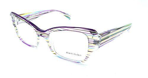 876fde11a6 Alain Mikli Rx Eyeglasses Frames A03036 B0I1 52x17 Violet ...