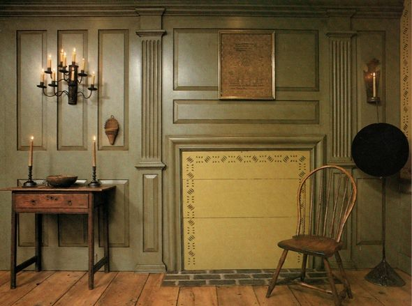 Colonial Wall Paneling : Best images about colonial raised panel wall on