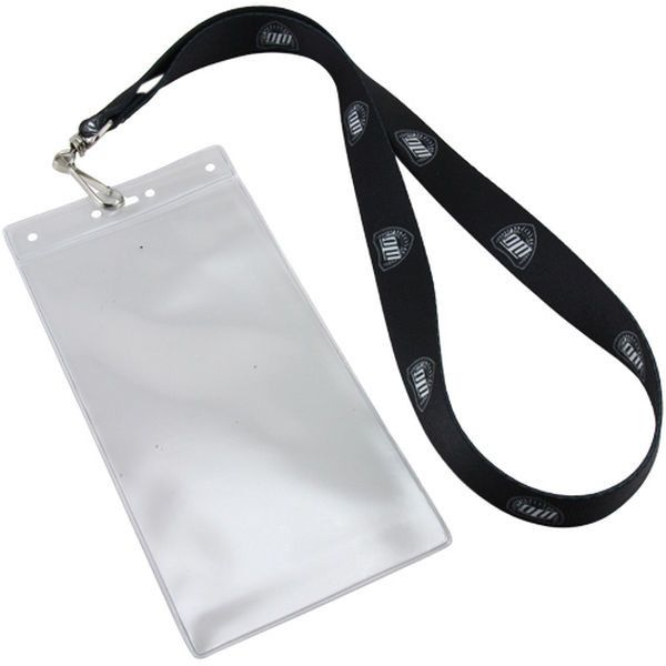 Oregon Ducks Win The Day Ticket Holder Lanyard - Black/White