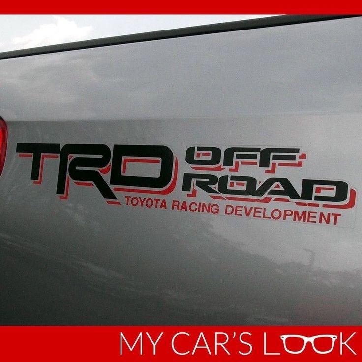 Toyota Tundra, Tacuma - TRD OFF ROAD sticker decal #MyCarsLook