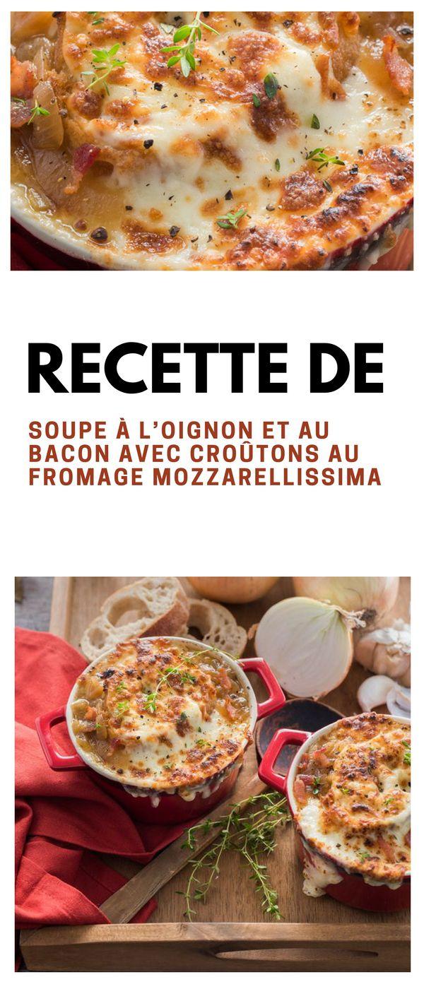 #soupe #oignon #bacon #croûtons #fromage