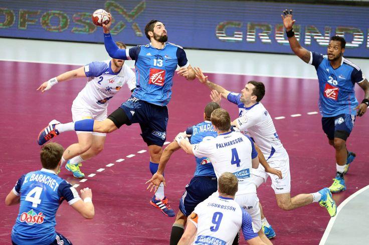 Handball 2015 IHF Qatar N. Karabatic France