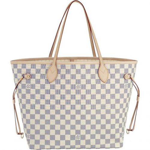 Louis Vuitton Damier Azur Neverfull MM N51107