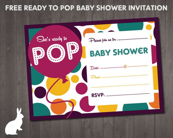 free baby shower invitations party invitations pop baby showers ready