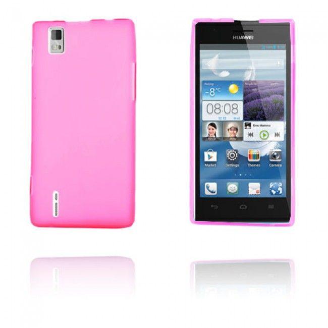 GelCase (Pinkki) Huawei Ascend P2 Suojakuori - http://lux-case.fi/gelcase-pinkki-huawei-ascend-p2-suojakuori.html