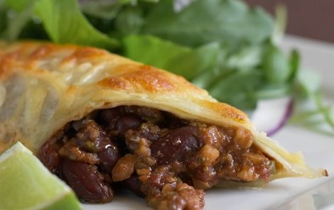 Enchiladaer med mole poblano