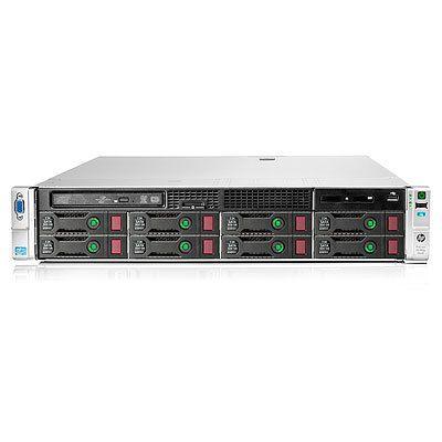 2x Intel Xeon E5-2665 (2.4GHz, 20MB), 32GB PC3-12800R, Slim SATA DVD-RW, Smart Array P420i/2GB FBWC, 2x 750W PS