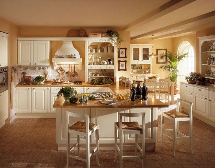 Cucine country e in muratura Berloni e Arrex - Vendita Parma e ...