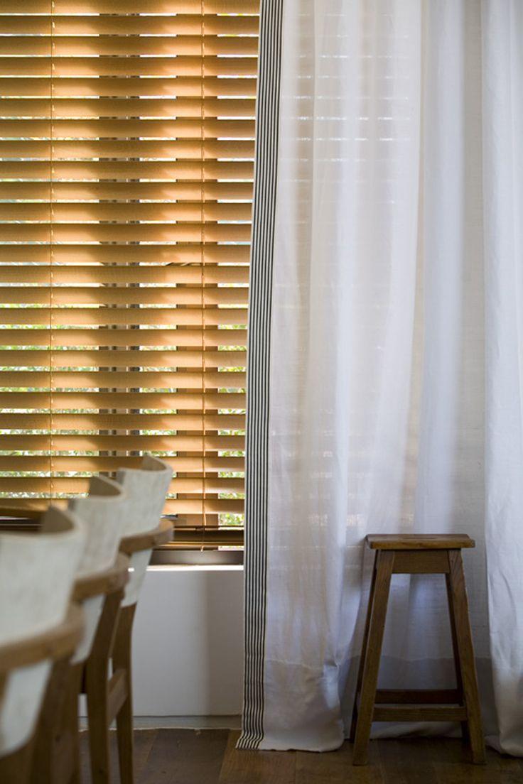 Casa Cor - Dado Castello Branco curtains + blinds by Arthur Decor