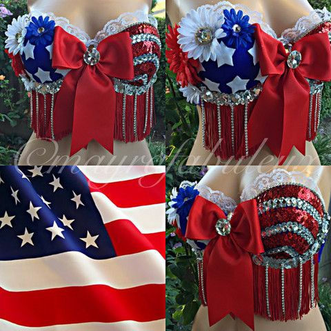 4th of july rave wear