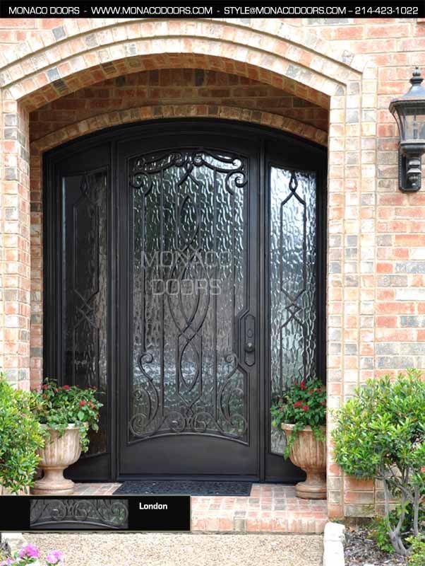 custom entry doors custom exterior doors & 81 best Front Door images on Pinterest | Windows Iron doors and ... pezcame.com