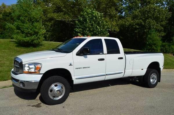 2006 Dodge Ram 3500 Laramie Diesel 4×4 (5.9L HO I6 Cummins Turbo Diesel Engine) $22995: QR Code Link to This Post 2006 Dodge Ram 3500…