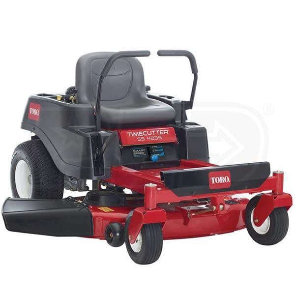 Buy Toro 74721 Direct. Free Shipping. Tax-Free. Check the Toro TimeCutter SS4225 (42-Inch) 22HP Kohler Zero Turn Lawn Mower ratings before checking out.