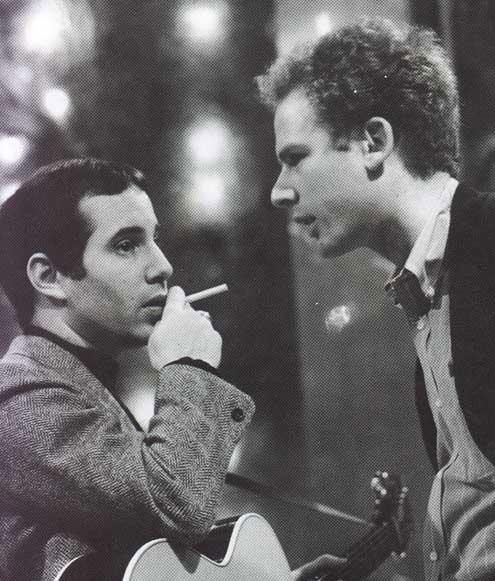 Paul Simon and Art Garfunkel