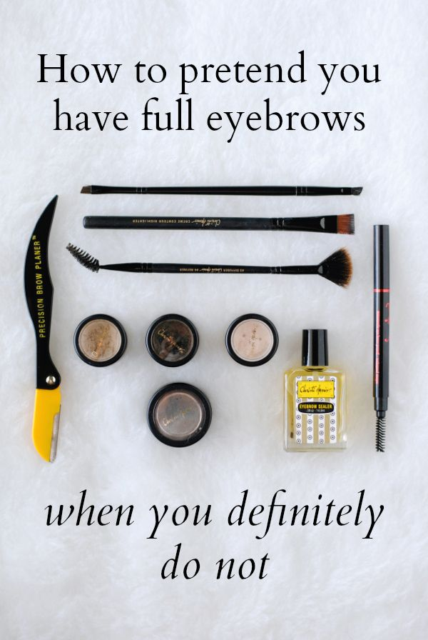 Just browsin: How to pretend you have full eyebrows when you definitely do not on http://therewm.com/2014/08/27/how-to-pencil-in-eyebrows/
