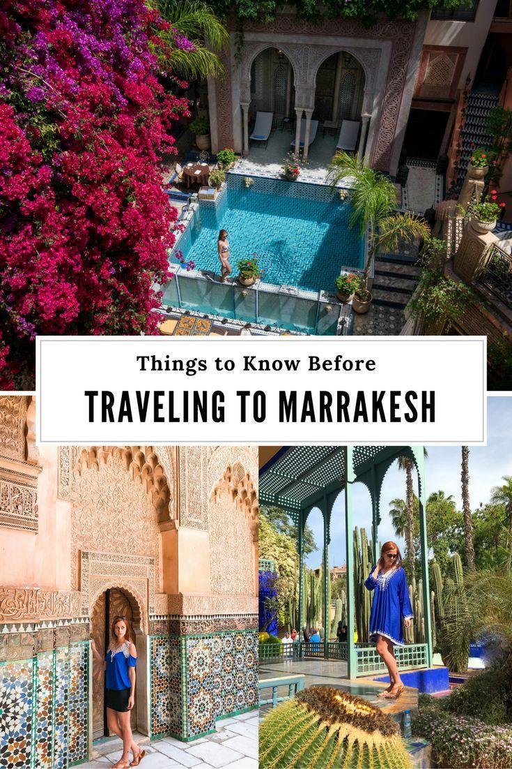 Marrakesh Travel Tips