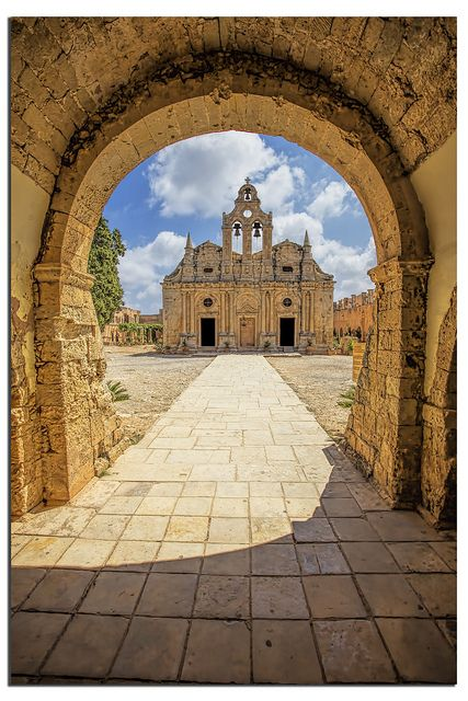 The monastery of Arkadi,  #Rethymnon #Crete. By Henrik Lundholm Andersen
