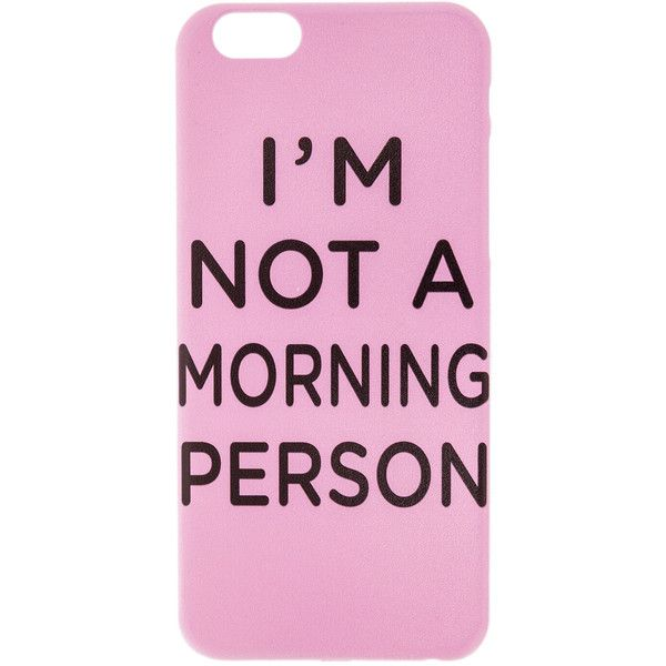 Spielberg Tech The I Need My Sleep Iphone 6 Case found on Polyvore