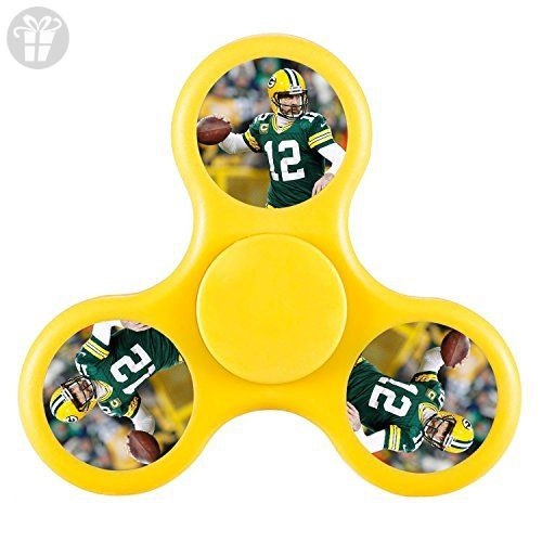 ToyHouse Fidget Spinner Aaron Rodgers Tri-Spinner High Speed Spin Gyroscope Whipping Top Hand Spinner Hand Toy Scopperil Speed Spin Peg-top High Speed Spin Toys High Speed Spin Toys - Fidget spinner (*Amazon Partner-Link)