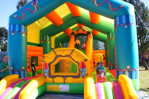 yes. jumping castle... always a must have at any party for any occasion.