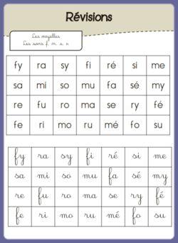 S'entrainer à lire des syllabes | La maîtresse et ses monstrueux | Bloglovin'