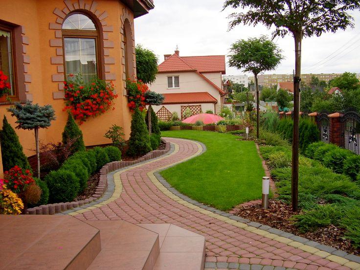Garden-design.PROJEKTOWANIE OGRODÓW. PRZEDOGRÓDEK KIELCE.  OGRODY KIELCE.OGRÓD W MIEŚCIE.