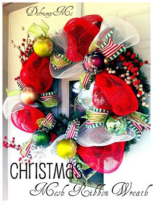 102 best Wreaths images on Pinterest Wreath ideas, Deco mesh