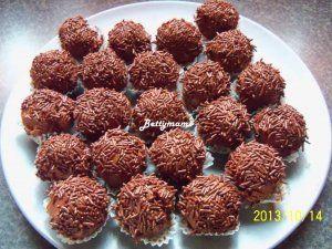 Krémes csokigolyó | Betty hobbi konyhája