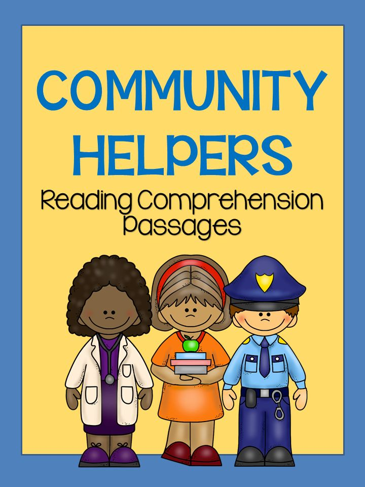 Community Helpers Reading Passages | Reading passages ...
