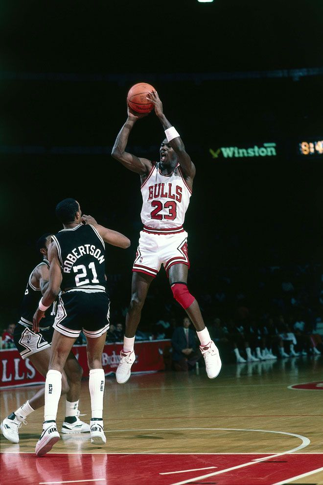 Jordan Vs Spurs