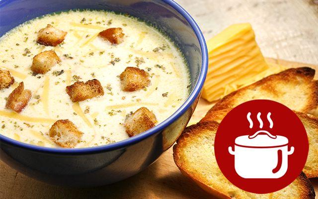 Сырный крем-суп: рецепт пошаговый | Все буде смачно