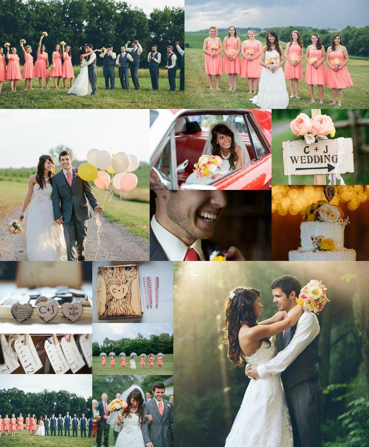 Rustic Wedding C And Gray Diy Barn