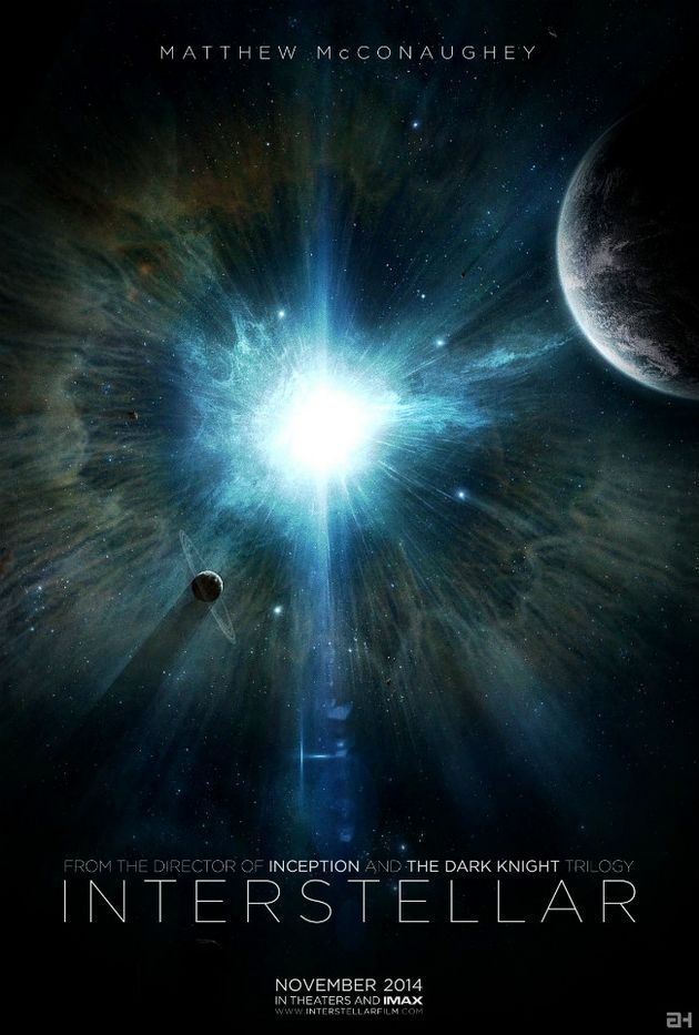 Interstellar new film out 7th november 2014 based in outer space and showing that space is a point of interest , by Christopher Nolan