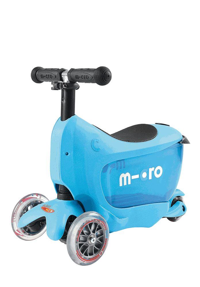 Micro Kickboard Mini 2 Go Deluxe Blue