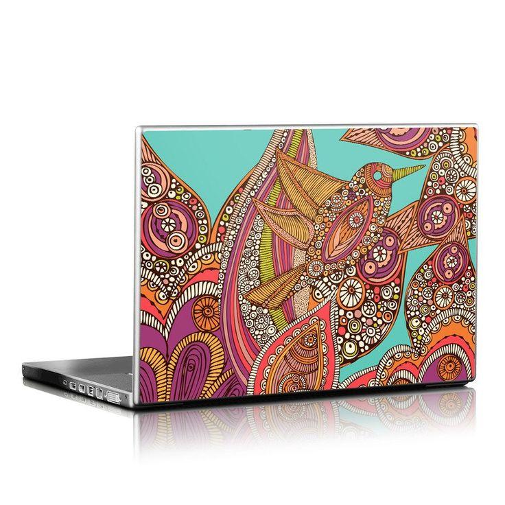 Laptop Skin - Bird In Paradise by Valentina Ramos | DecalGirl