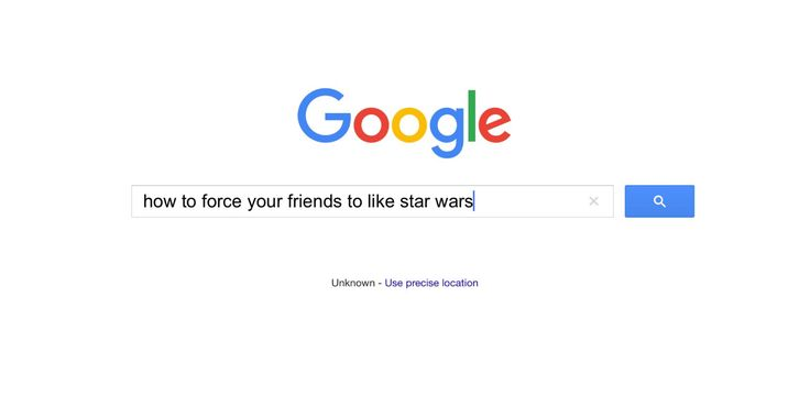 """The answer is right there, you use the """"force"""". Then again, that's not how the force works..."""