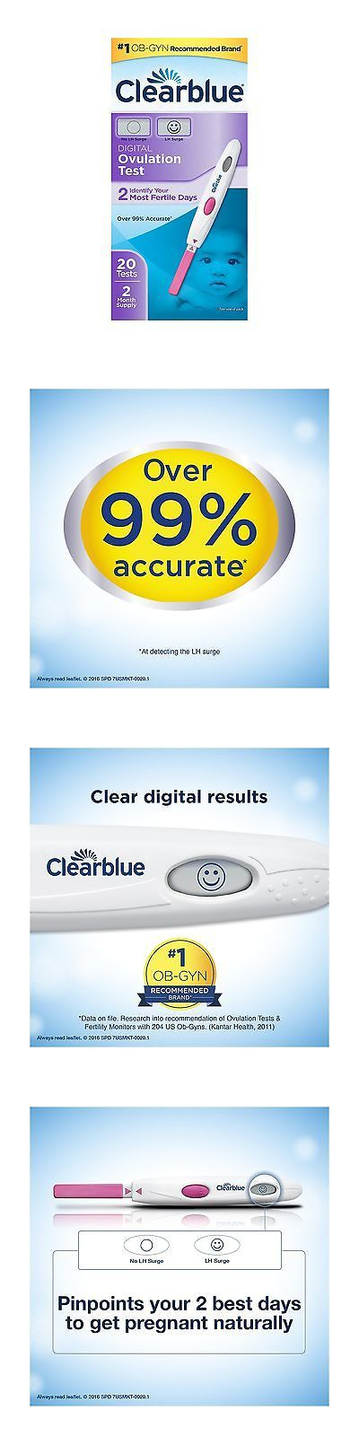 Fertility Monitors and OPKs: Clearblue Digital Ovulation Test 20 Ovulation Tests 20 Count -> BUY IT NOW ONLY: $44.43 on eBay!