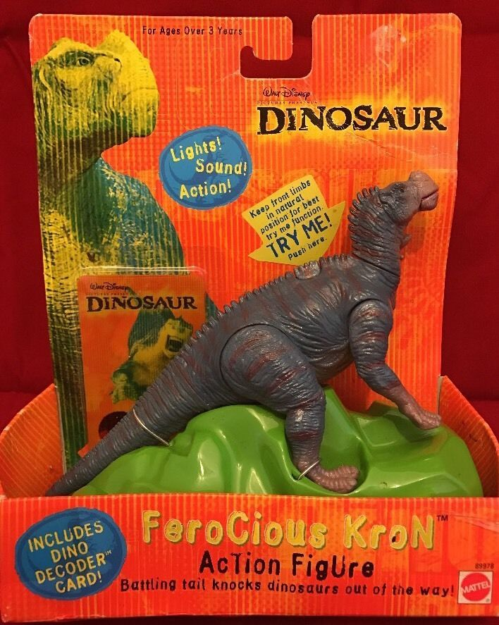 Disney Dinosaur Toys : Mattel disney dinosaur movie ferocious kron unused new in