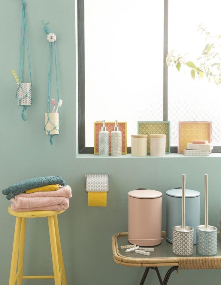 Tendance colorée pour votre salle de bain