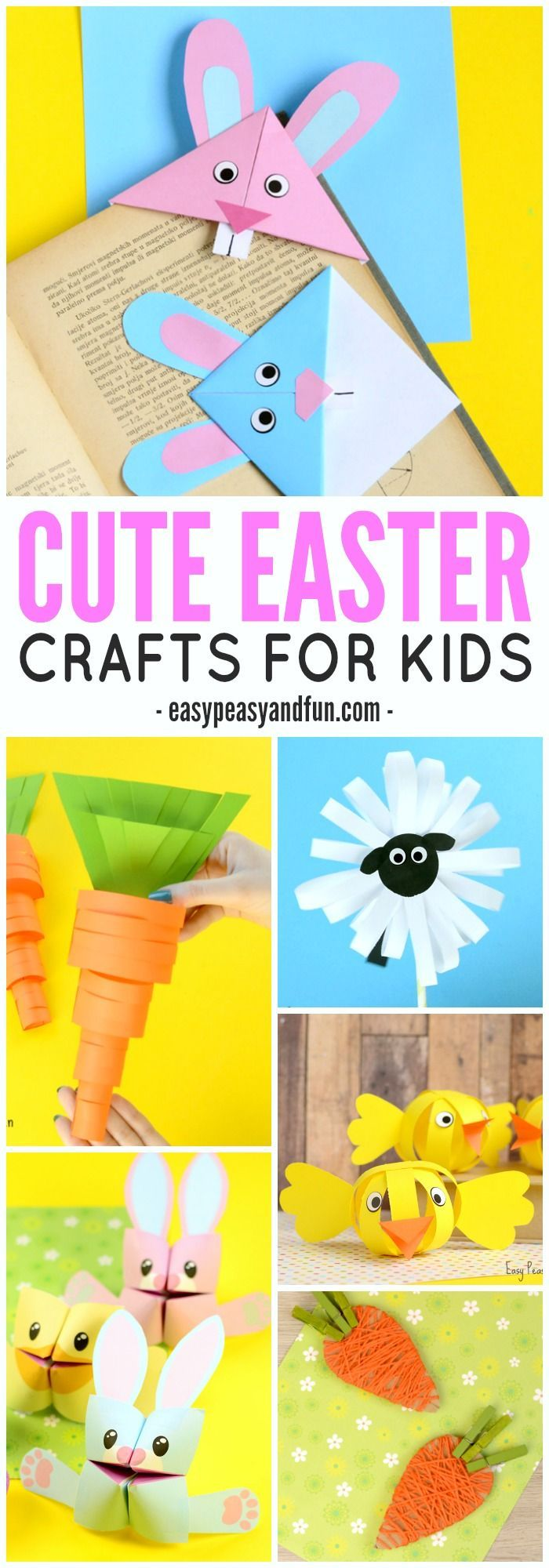 Easter craft ideas for toddlers - Cute Easter Crafts For Kids To Make