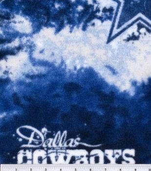 """Dallas Cowboys Fleece Fabric 58""""-Logo"""